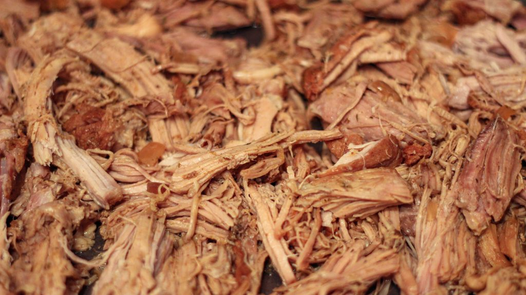 shredded pork carnitas