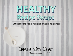 Healthy Recipe Swaps eCookbook by Cooking With Ginger